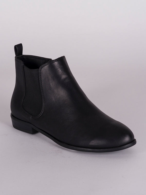 WOMENS NADIA VEGAN LEATHER CHELSEA BOOT - CLEARANCE