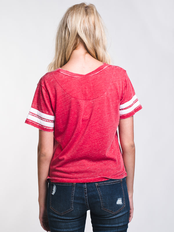 WOMENS MILA BURNOUT TEE