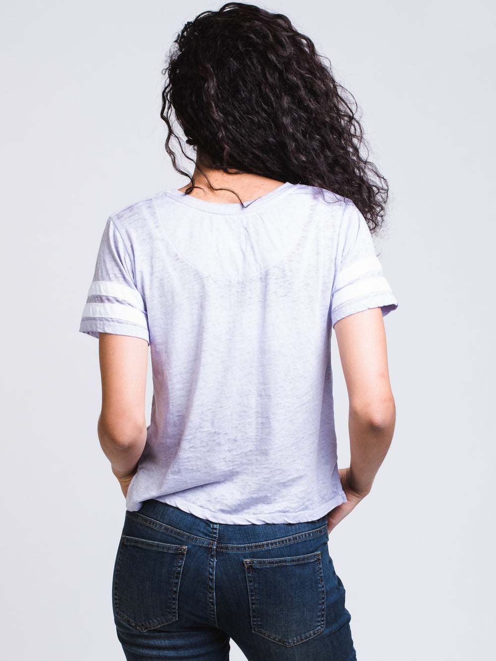 WOMENS MILA BURNOUT TEE - CLEARANCE
