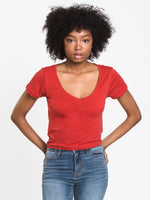 WOMENS KINSLEY VNECK TEE