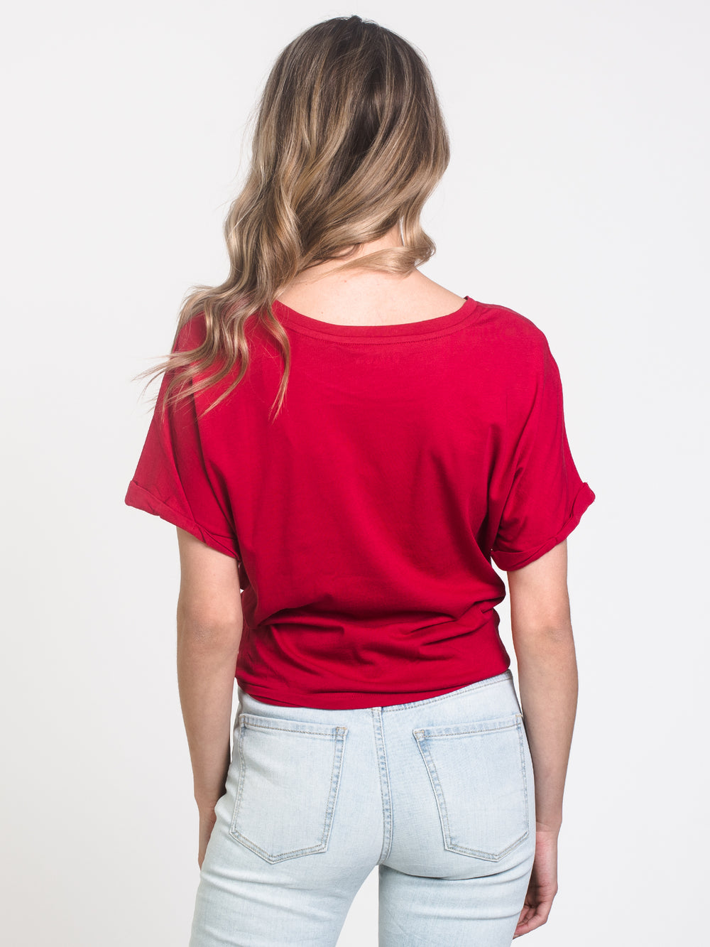 WOMENS LAYLA KNOTTED TEE