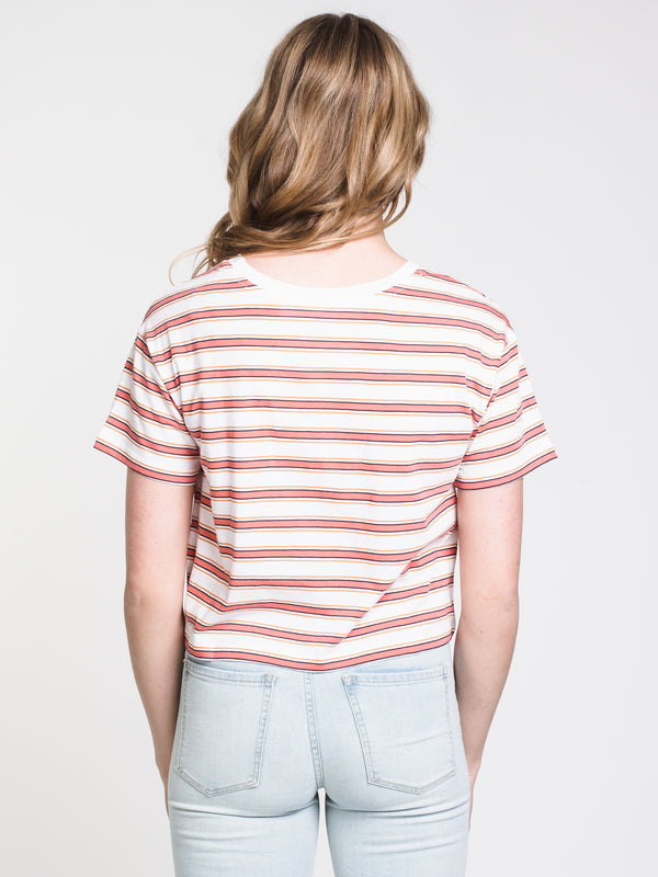 WOMENS MILLIE STRIPE TEE