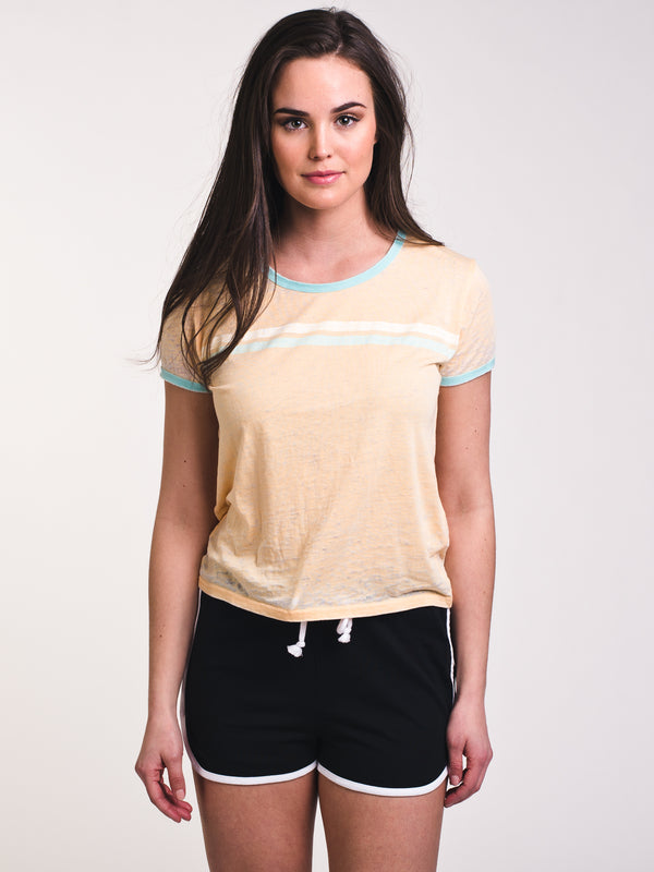 WOMENS STELLA BURNOUT RINGER