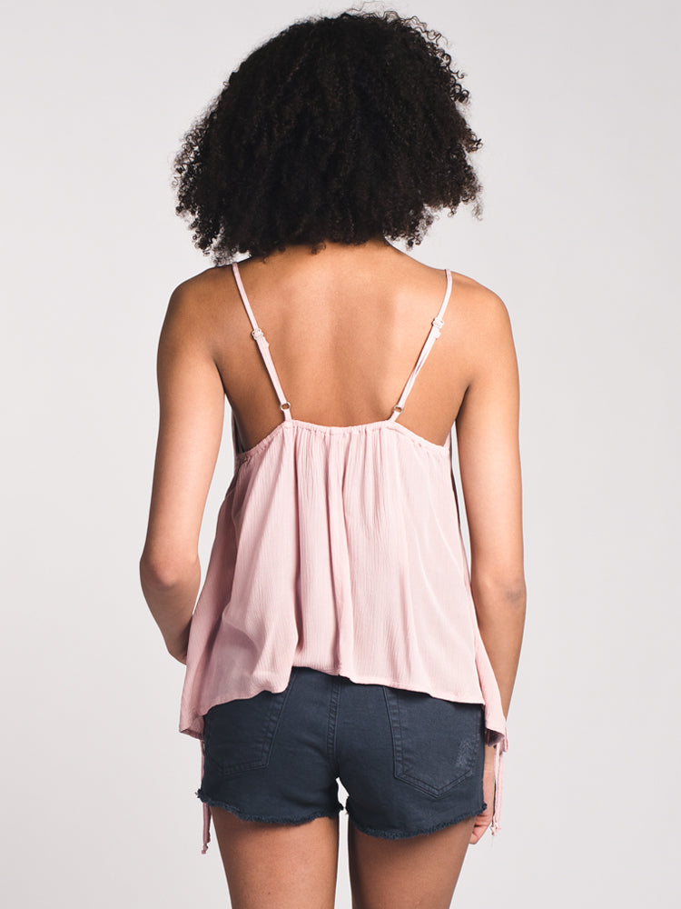 WOMENS WOMENS PENNY LACE UP CAMI- CLEARANCE