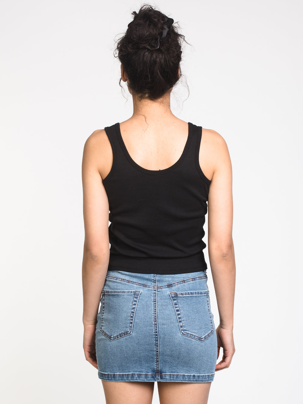 WOMENS MADDIE NOTCH SOLID TANK