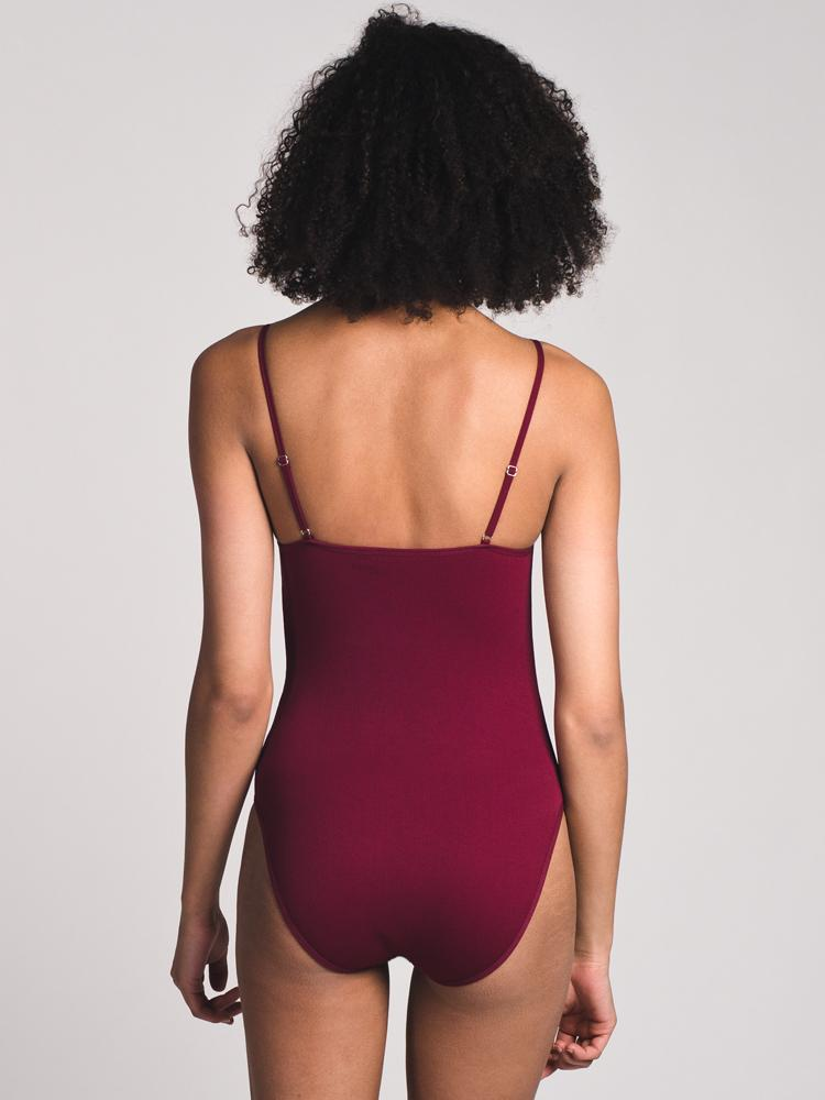 WOMENS WOMENS PENNY HALTER BODYSUIT- CLEARANCE