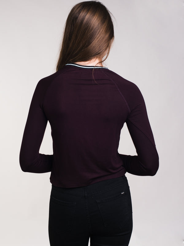 WOMENS DARIA LONG SLEEVE RAGLAN - CLEARANCE
