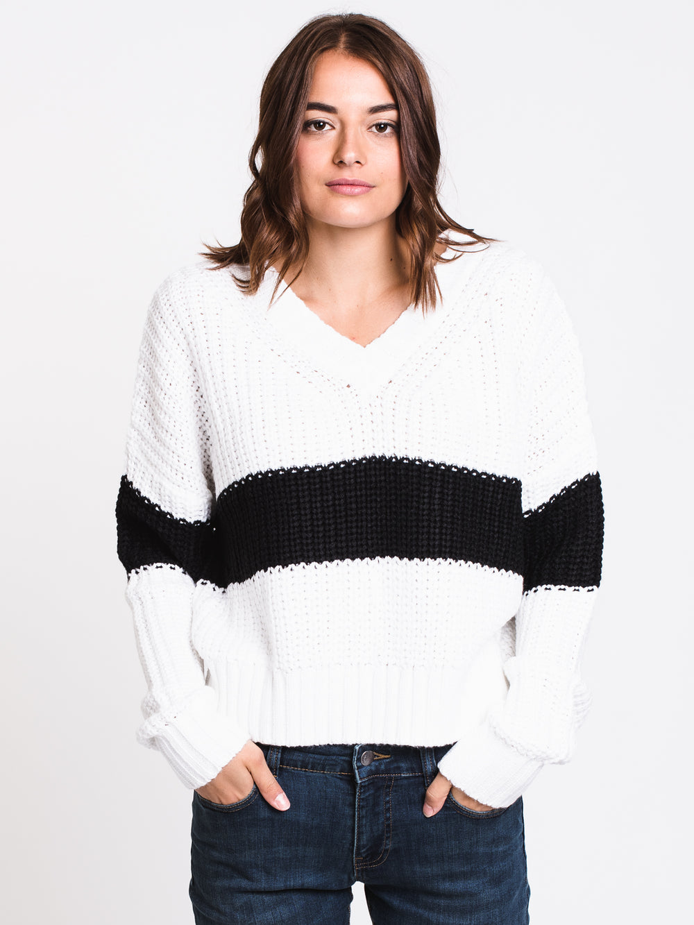 WOMENS JANA STRIPE SWEATER