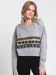 WOMENS JANA PATTERN SWEATER