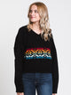WOMENS JANA RAINBOW SWEATER