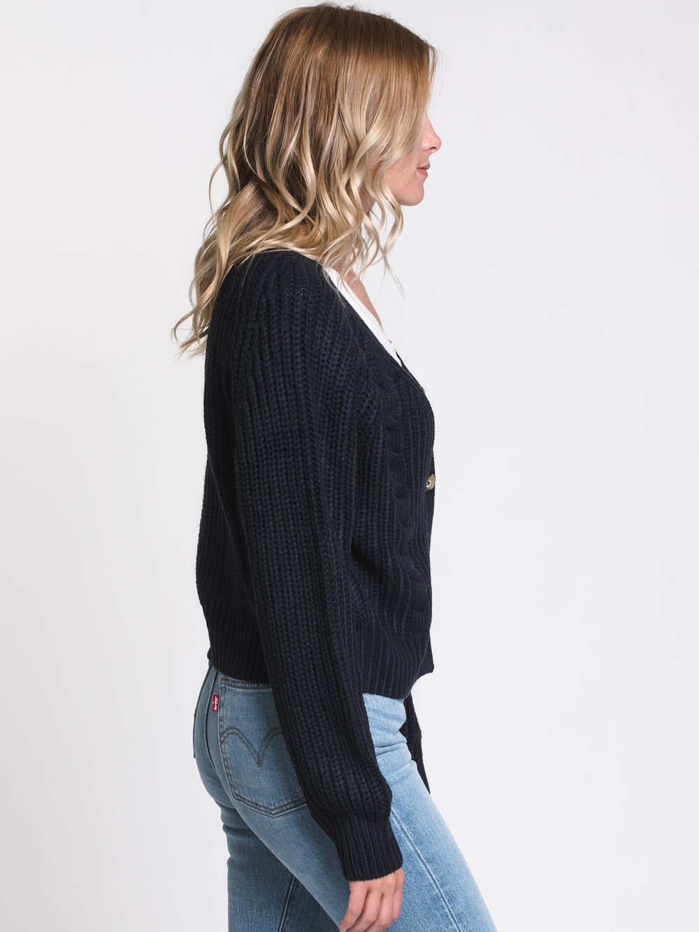 WOMENS MARGOT CABLE CARDI