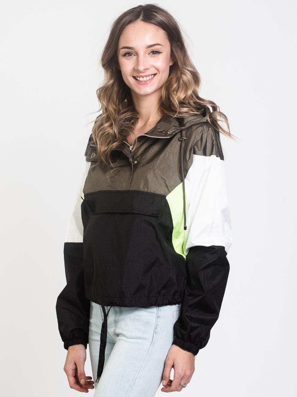 LILY COLOURBLOCK JACKET