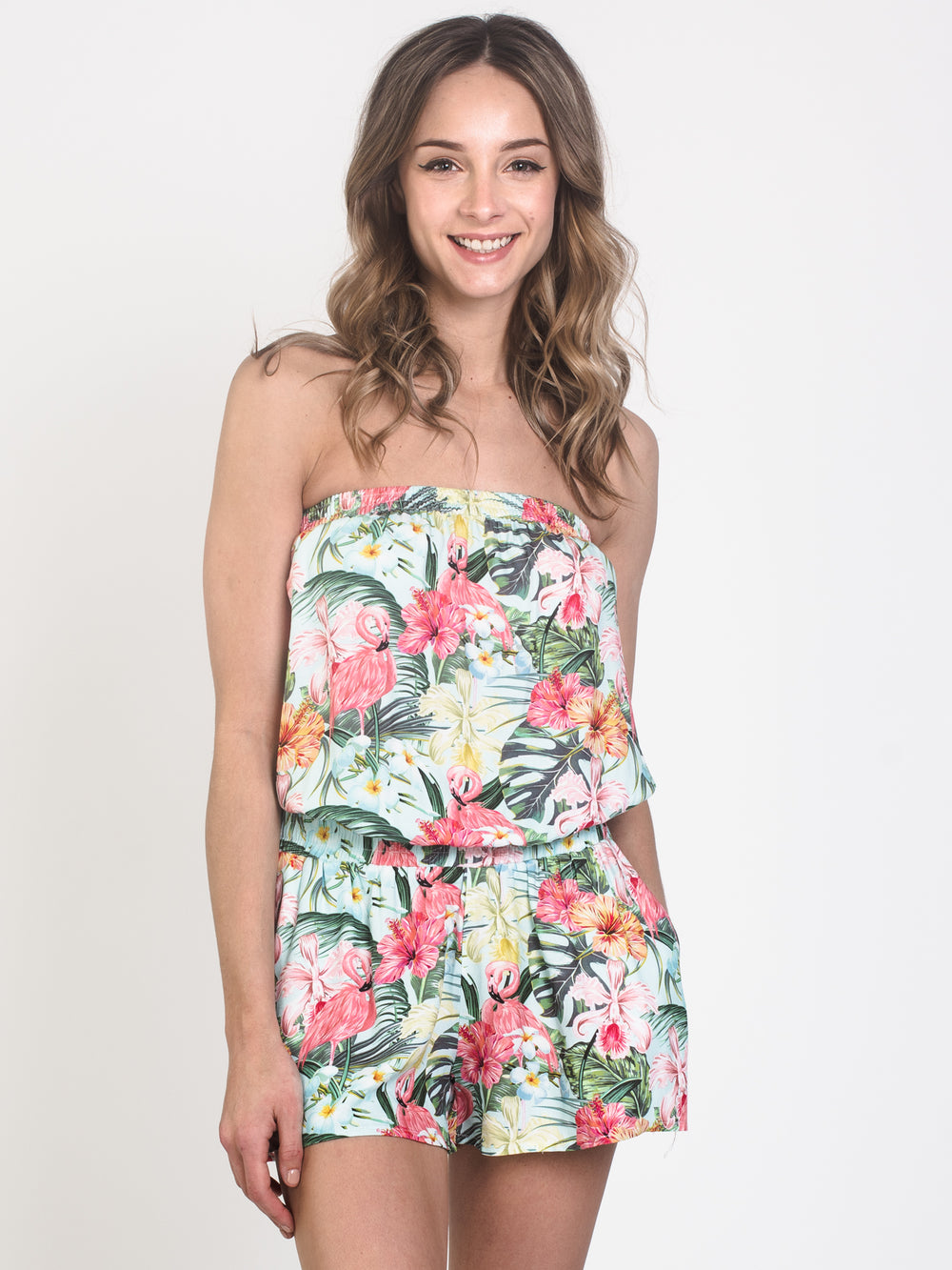 WOMENS SALLY TUBE ROMPER