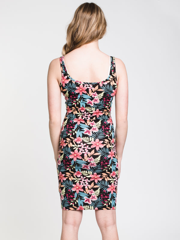 WOMENS KAT PRINTED DRESS