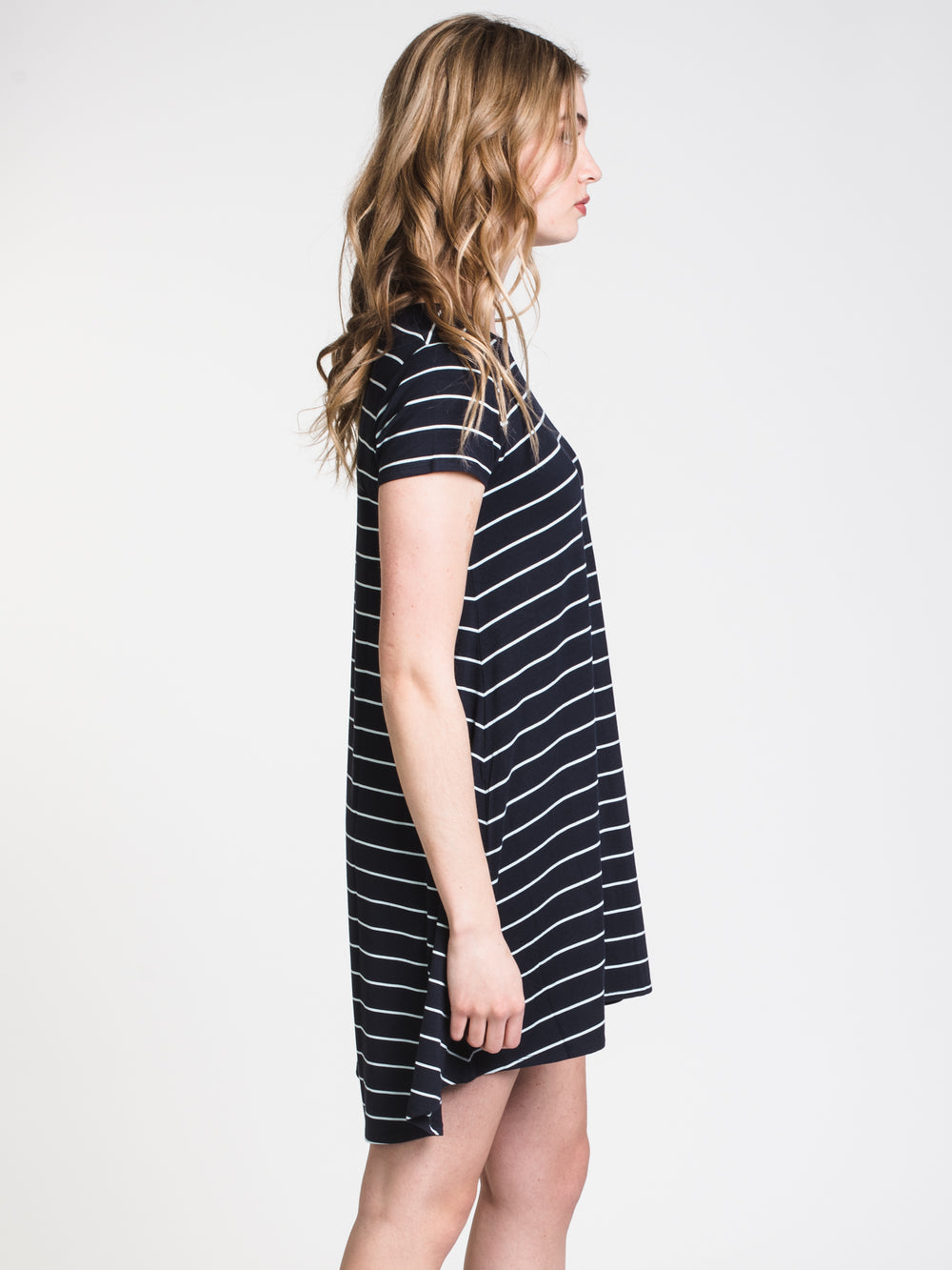WOMENS LEIGH STRIPE TEE DRESS