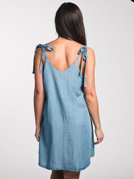 WOMENS PENNY SOLID SLIP DRESS