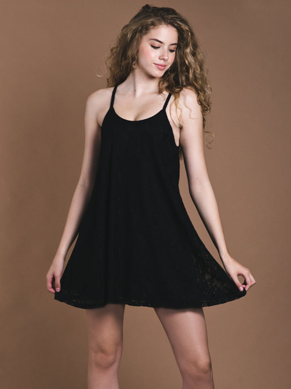 WOMENS LOLA LACE DRESS - CLEARANCE