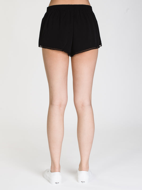 WOMENS STELLA SOLID BOBBLE SHORT