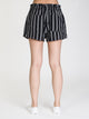 WOMENS STELLA STRIPE SHORT