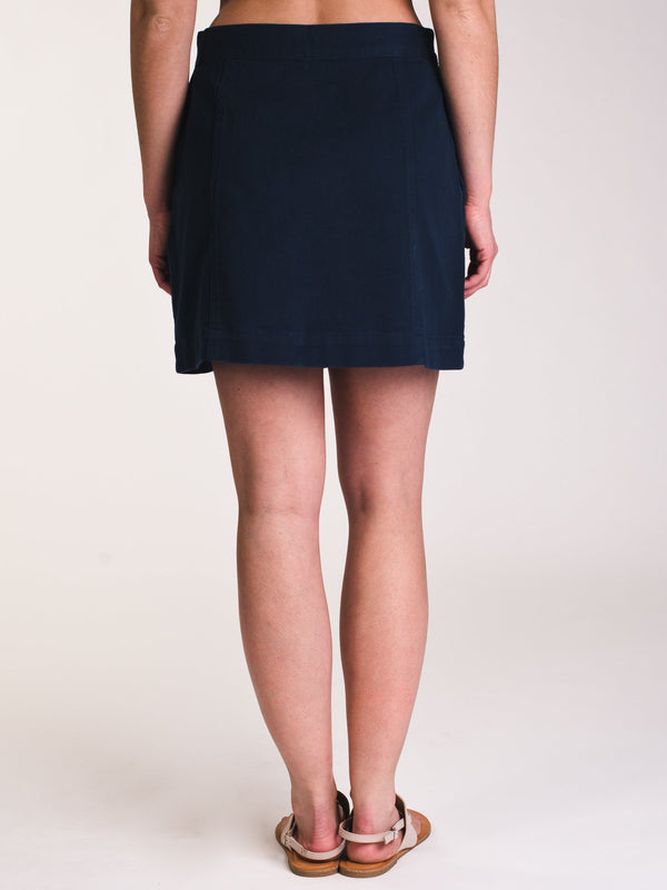 WOMENS WOMENS LANA SOLID ALINE SKIRT- CLEARANCE