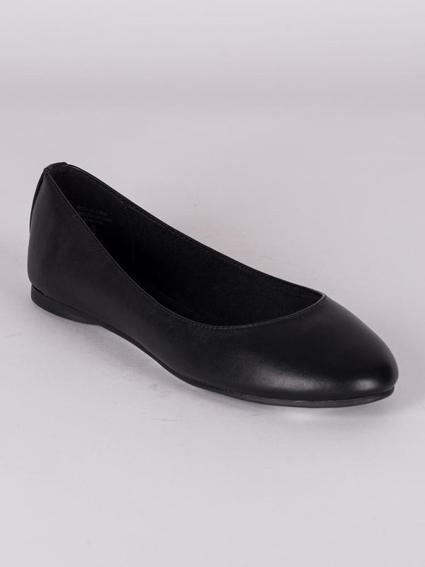 WOMENS KREME VEGAN LEATHER BALLET FLATS FLATS- CLEARANCE