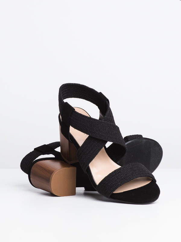 WOMENS HALLIE - BLACK-D2