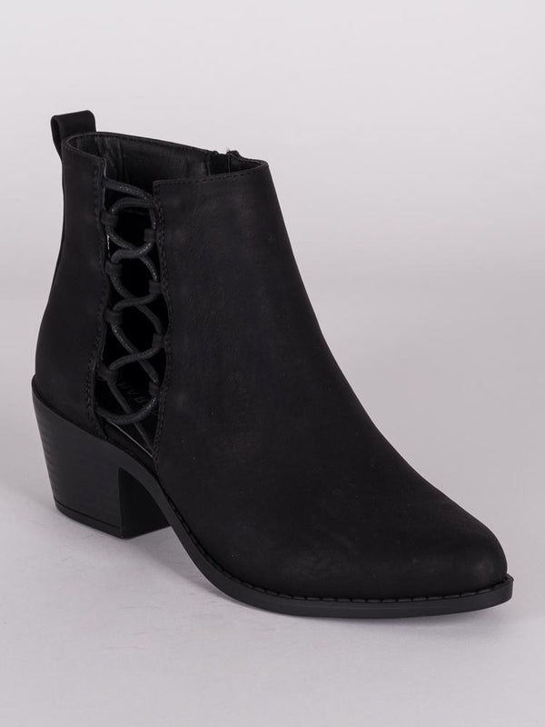 WOMENS MISTY MICROSUEDE BOOTIE  - CLEARANCE