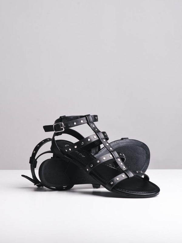 WOMENS WOMENS OUTDOOR BLACK SANDALS- CLEARANCE