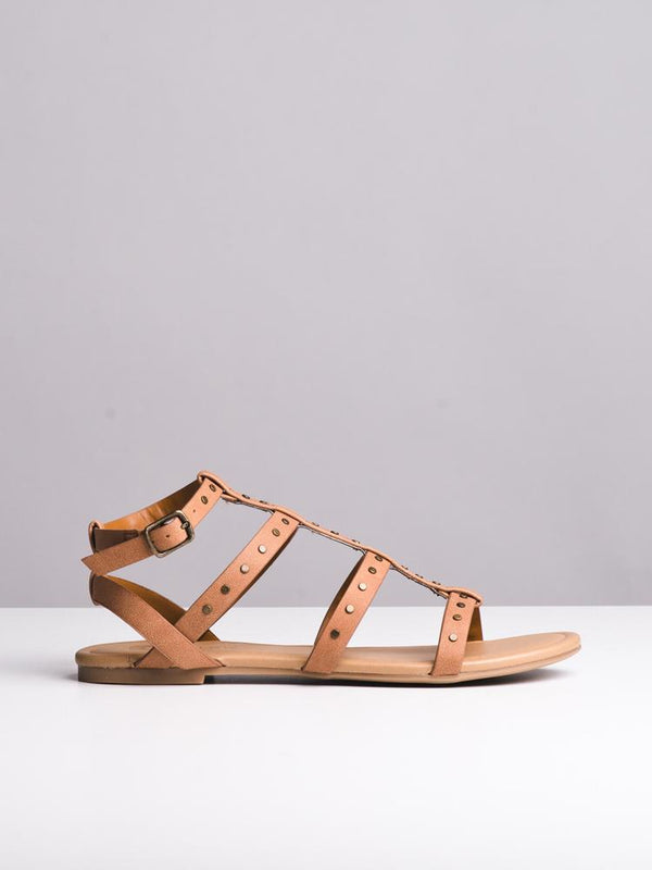 WOMENS WOMENS OUTDOOR TAN SANDALS- CLEARANCE