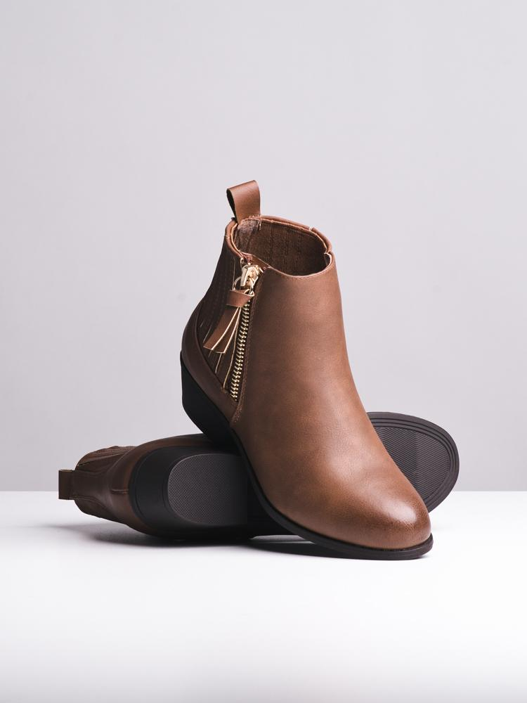 WOMENS WOMENS MAYA TAN BOOTS- CLEARANCE