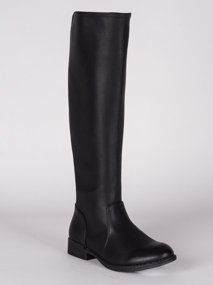 WOMENS TIA VEGAN LEATHER TALL BOOT  - CLEARANCE