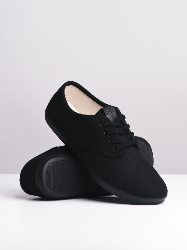 WOMENS WILLA - BLACK/BLACK-D4