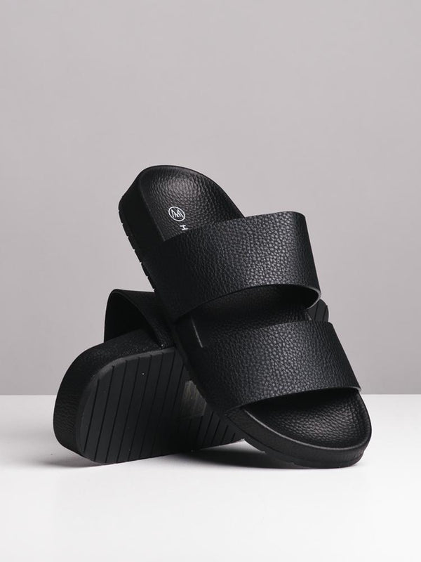 WOMENS WOMENS LONDON BLACK SANDALS- CLEARANCE