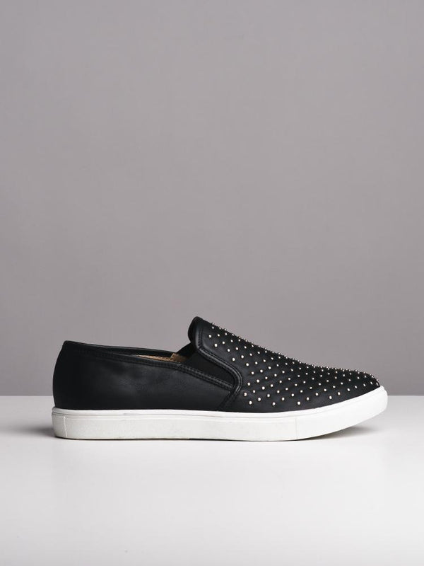 WOMENS WOMENS GEMMA BLACK SNEAKERS- CLEARANCE