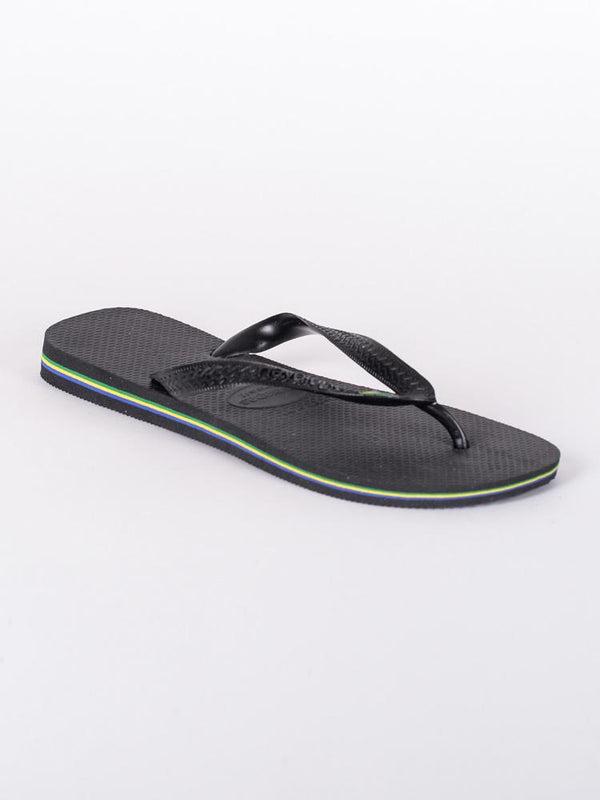 MENS BRAZIL BLACK SANDALS- CLEARANCE