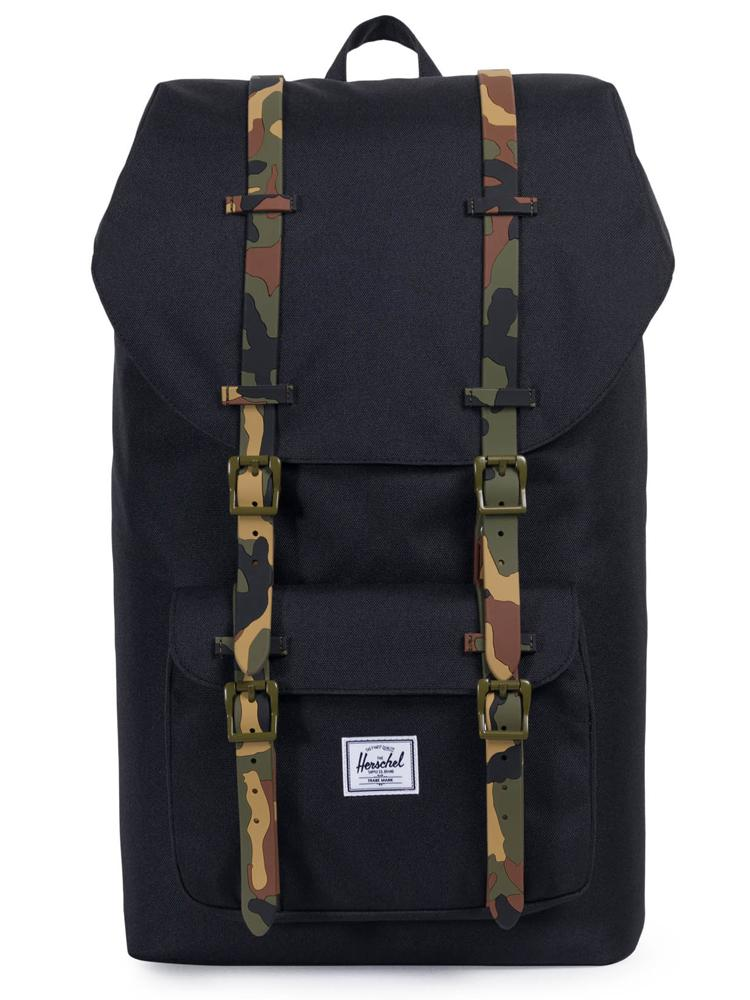 LITTLE AMERICA BACKPACK - BLK/CAMO - CLEARANCE