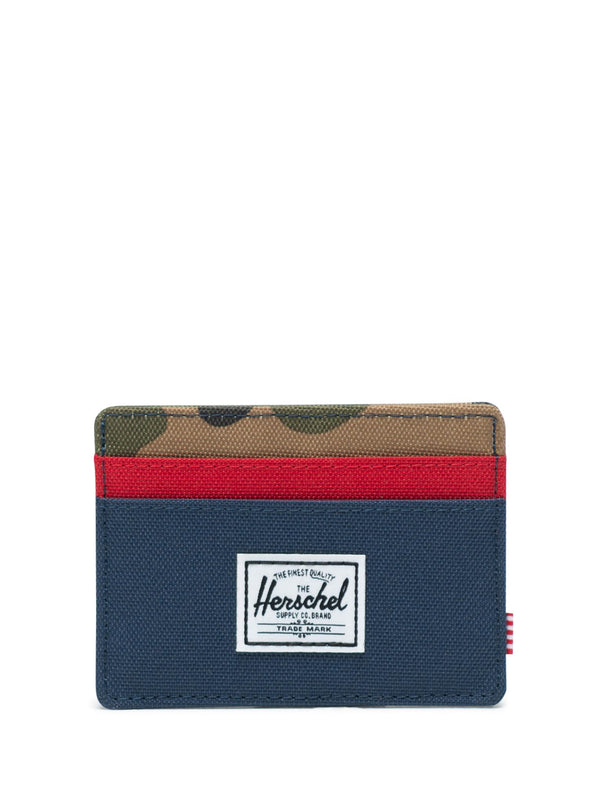 CHARLIE CARD WALLET - NVY/RED
