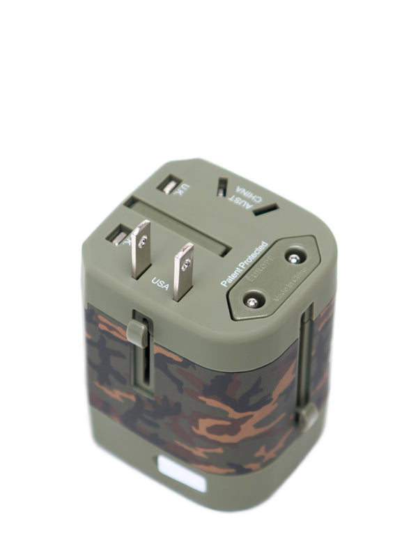 TRAVEL ADAPTOR - CAMO