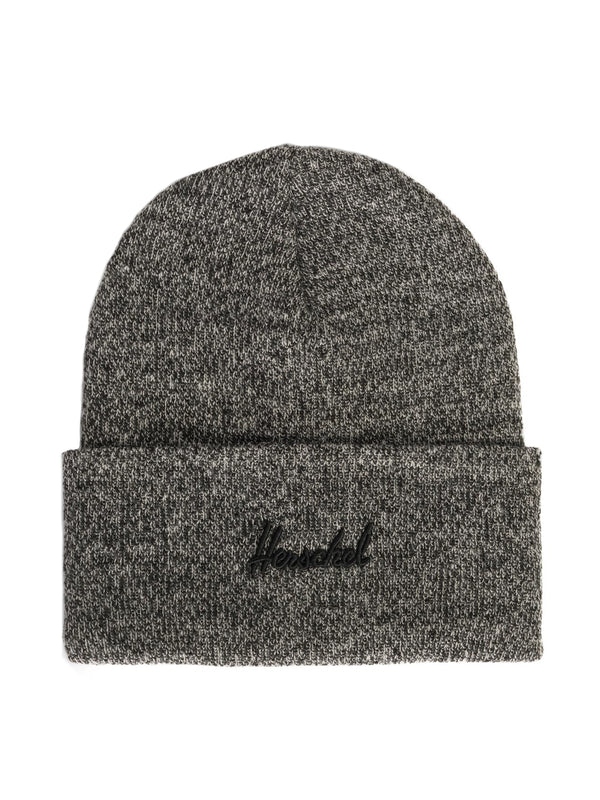 ADEN BEANIE - HEATHER BLACK