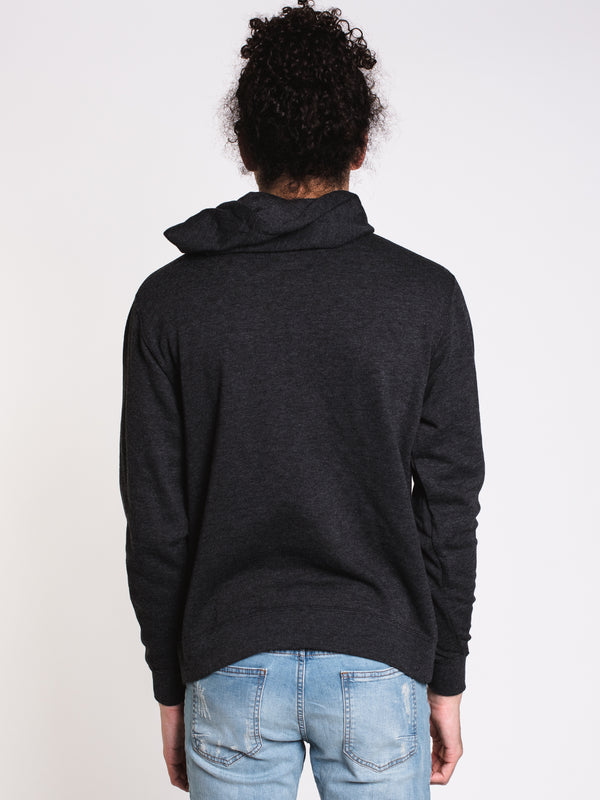 MENS COLLAGE Pullover HOOD - CHARCOAL