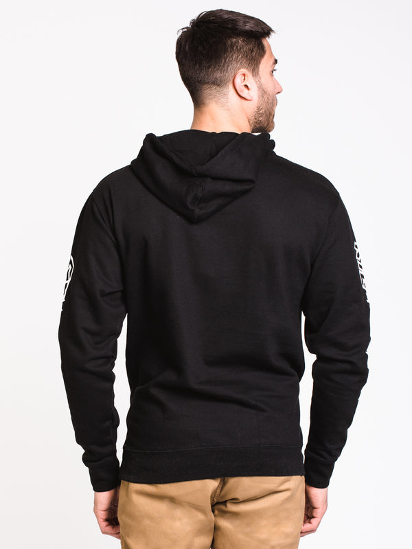 MENS CBAR KILL ALL TIRES Pullover HOODIE-BLK