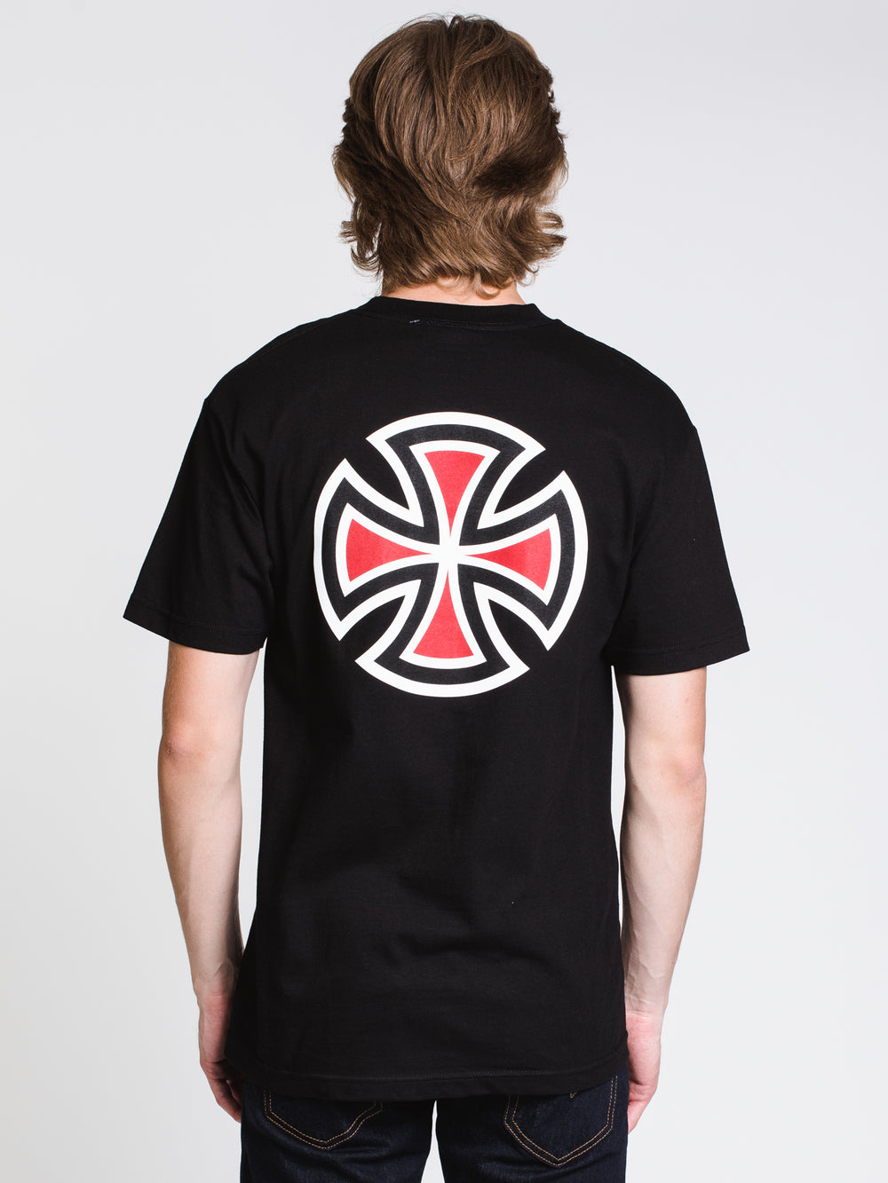 MENS INDY S/S T - BLACK