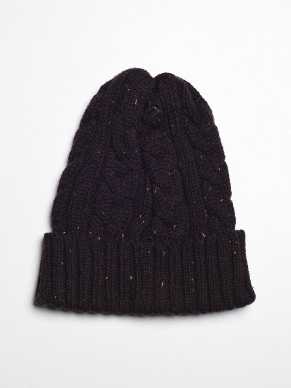 CABLE BEANIE - CLEARANCE
