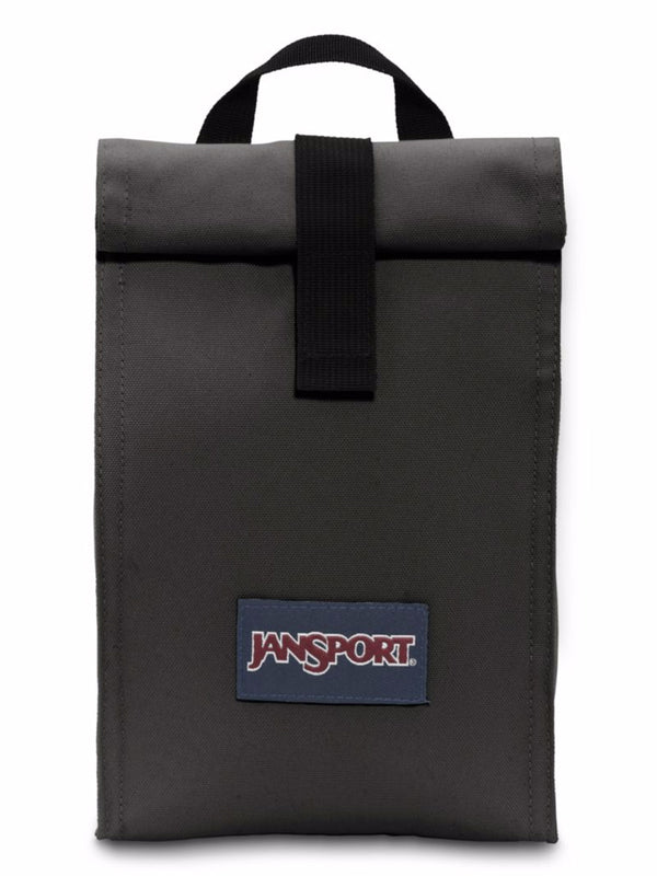 ROLLTOP LUNCH BAG - BLACK - CLEARANCE