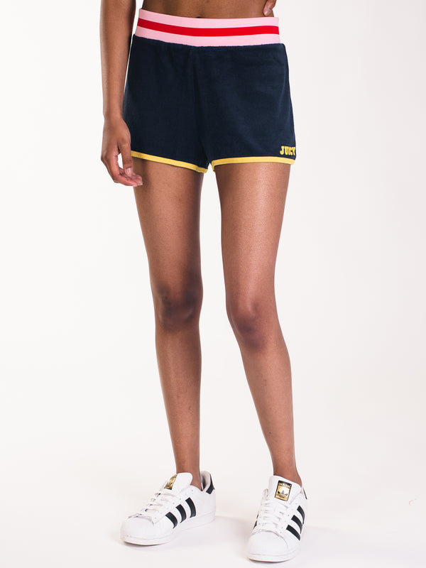 WOMENS JUICY LOGO MICROTERRY SHORT