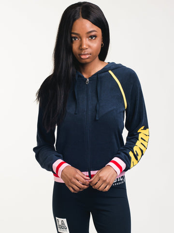 2d16a3d4c149c7 ADIDAS. WOMENS CROPPED HOODIE - BLACK.  80.00. EXTRA 25% OFF AT CART
