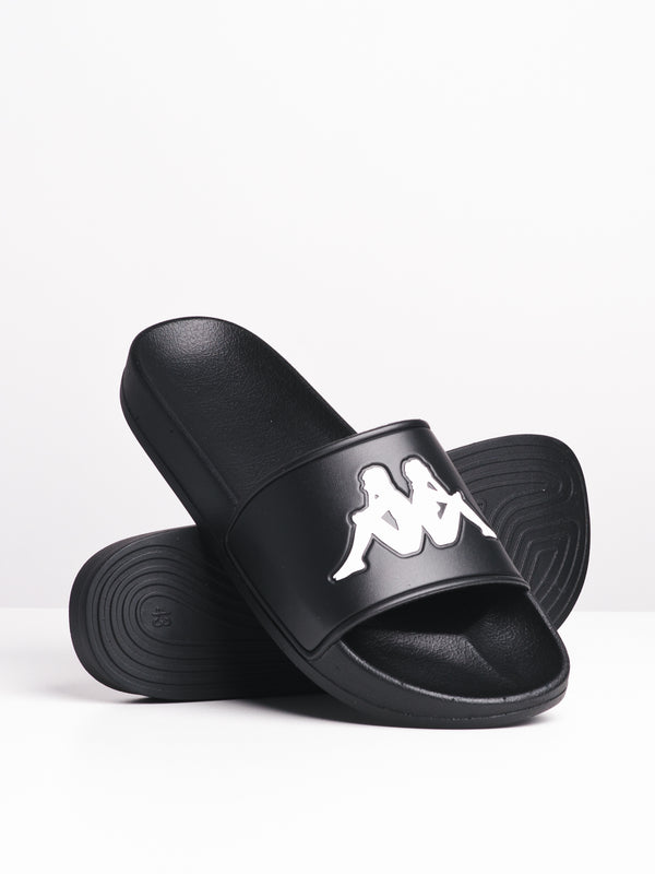 MENS AUTH ADAM SLIDE 2 - BLK/WHT