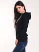 WOMENS AUTHENTIC ZIMY HOODIE - BLK