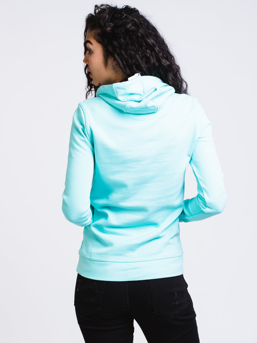 WOMENS AUTHENTIC ZIMY HOODIE - TRQ - CLEARANCE