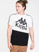 MENS BANDA BALDWIN SHORT SLEEVET-SHIRT- WHT/BLK